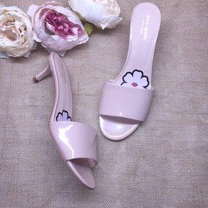 Kate Spade Pink Heeled Sandals 8.5M